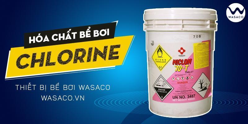 Banner Hóa chất Chlorine Trung Quốc