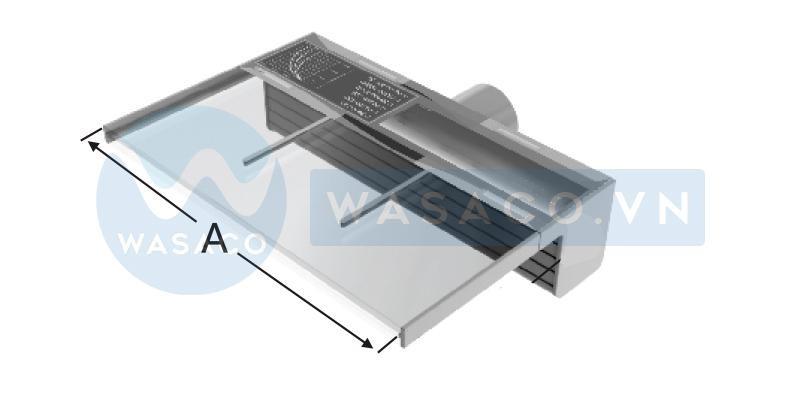Thác nước xả tràn thẳng series PB- 150(L)