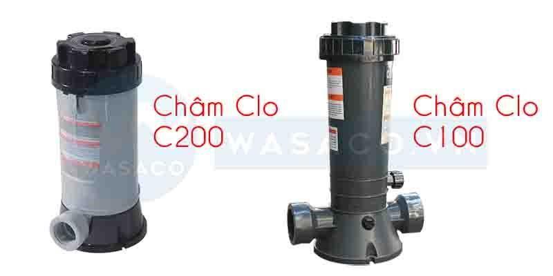 Châm Clo C200 và châm Clo C100