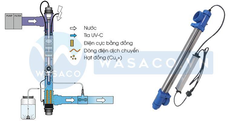 Nguyên lý hoạt động đèn UV Blue Lagoon VGE