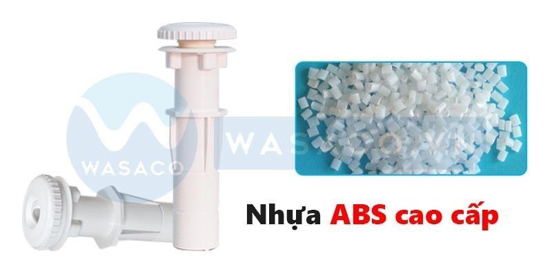 Sản phẩm được làm từ nhựa ABS