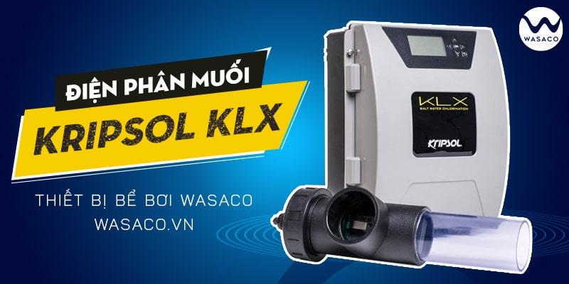 Sản phẩm bộ điện phân muối clo KLX