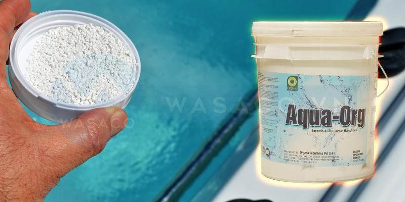 Sản phẩm hóa chất Chlorine Ấn Độ(45kg)