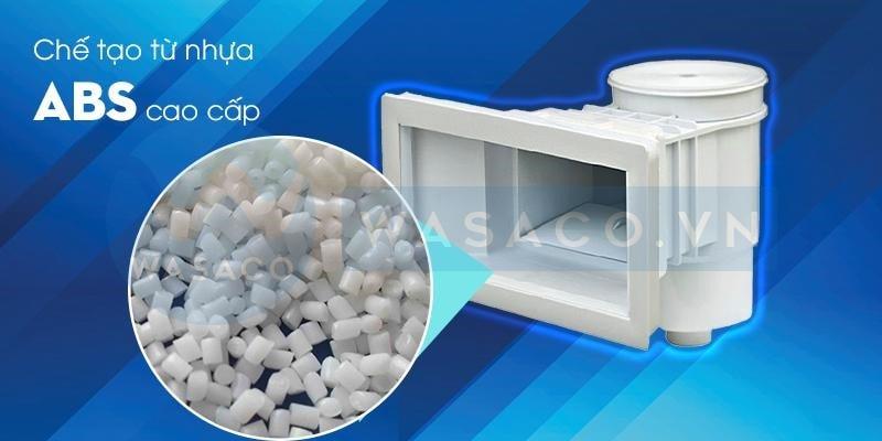 Skimmer AQ0020V được làm từ nhựa ABS cao cấp