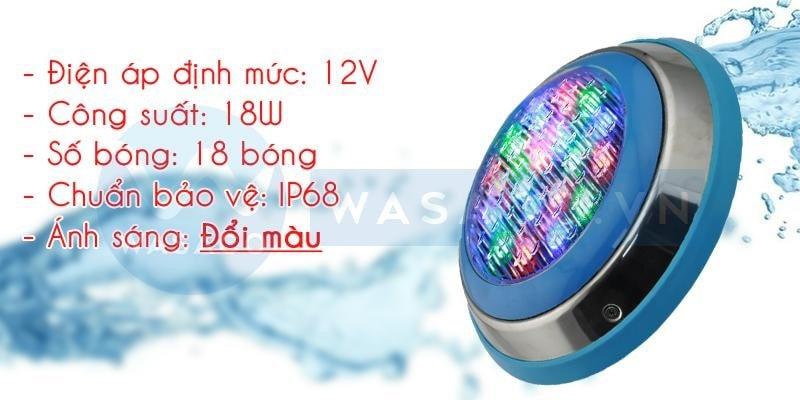 Thông số đèn led đổi màu TF12-18M
