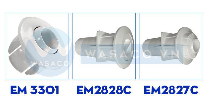 Thông số kỹ thuật đầu trả nước series EM