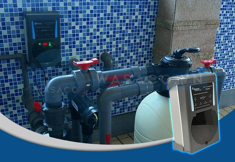 Ứng dụng bộ điện phân muối Emaux SSC