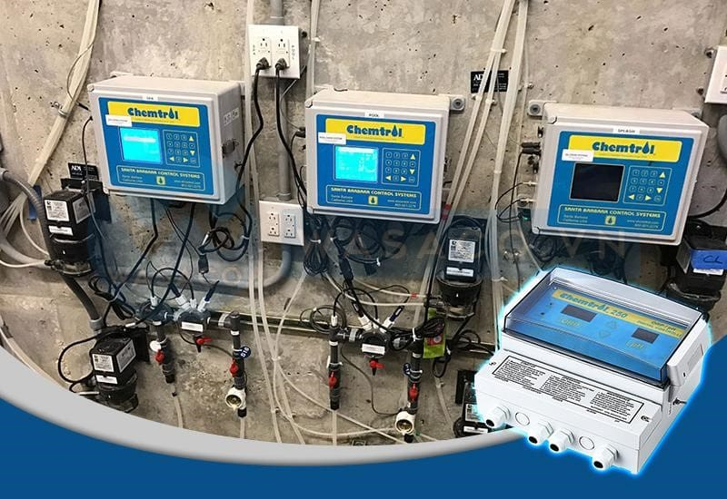 Ứng dụng của Châm Hóa Chất Tự Động Chemtrol 250 ORP/pH