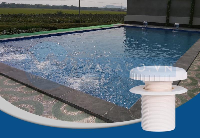 Ứng dụng đầu trả nước bể bơi Procopi