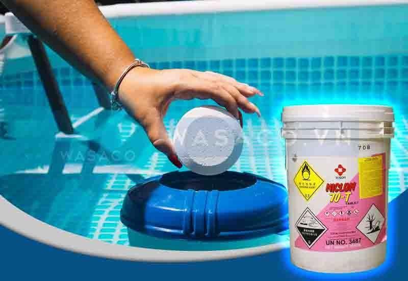 Ứng dụng hóa chất Chlorine Trung Quốc