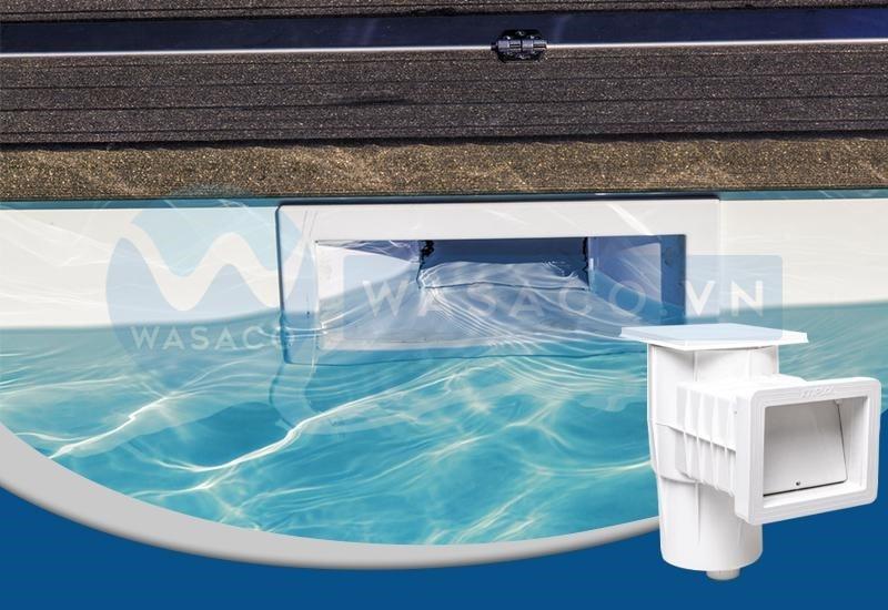 Ứng dụng Skimmer hút nước mặt bể bơi Kripsol