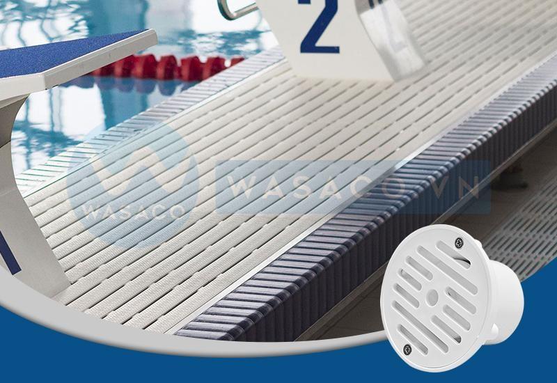 thu nước máng tràn bể bơi model sp 1424